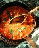Salsa di pomdoro (fresh tomato sauce, Italy)