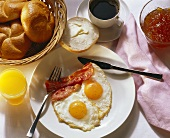 Breakfast with Bacon & Eggs