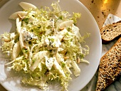 Curly Endive with Fennel & Gorgonzola Cheese