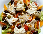 Spanish Fish Salad with Olives