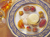 Ricotta Souffle with Fruits & Walnuts
