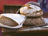 Three Coarse Rye Breads