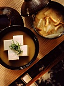 Miso Soup & Miso Soup with Filling