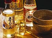 Several Bottles of Rice Wine