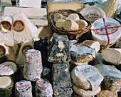 Auswahl von französischem Käse