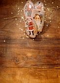 St. Nicholas Wafers as Christmas Tree Decoration