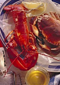 Boiled Lobster & Crayfish