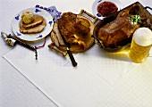 Dedication Day Goose; Veal Knuckle & Pork Roast