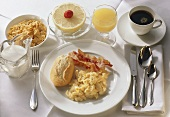 Scrambled Egg; Bacon; Orange Juice & Coffee