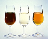 Three Types of Sherry