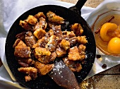 Browned Austrian Pancake from the Pan (Kaiserschmarrn)