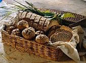 Buttermilk Bread & Rye Bread Rolls