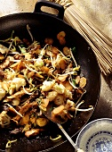 Wok-cooked Chinese Chicken and Vegetables