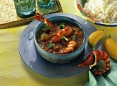 Creole Shrimp with Rice