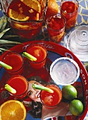 A Tray Full of Bloody Marys