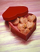 Heart-shaped Decorated Cookies