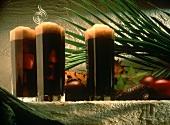Iced Coffee in Longdrink Glasses