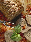 Giant Roulade with Herb-Raw Sausage Stuffing