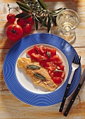 Pike-Perch Fillet with Sage and Tomatoes