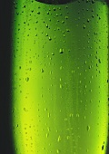 Chilled Green Bottle Close Up
