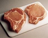 Two Pork Rib Chops