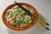 Chinese Noodle Salad with Zucchini