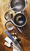 Utensils for making desserts and for baking