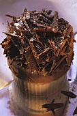 Chocolate Icecream Souffle with Chocolate Ruffles