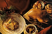 Roast Duck; Heart Waffles and Soup; Christmas Dinner