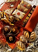 Various gingerbreads as gifts
