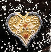 Heart-shaped Cookie with Icing