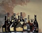 Various cognacs & Armagnacs