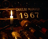 1967 bottles laid down in the cellar of Chateau Margaux