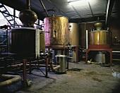 Brandy distillery at Torres in Catalonia, Spain