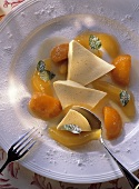 Bavarian Mousse with Apricots