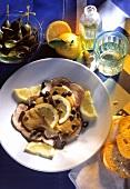 Vitello tonnato (veal with tuna sauce), Italy