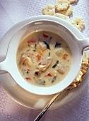 Muschelsuppe - Clam Chowder