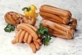 Wieners in Plastic Bags