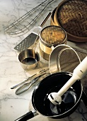 Several Assorted Kitchen Utensils