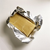 Marzipan in a Foil Wrapper