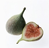Whole Fig and a Half of Fig