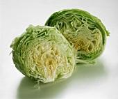 Two Halves of Iceberg Lettuce