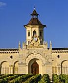 Chinesischer Pagodenstil: Chateau Cos d'Estournel in Bordeaux