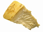 A Wedge of Grana Padano Cheese