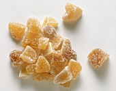 Candied ginger, in pieces
