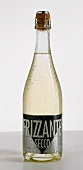 Frizzante Secco bottle (slightly sparkling wine)
