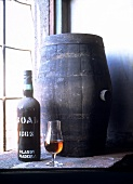 1863 Bual bottle,  Adegas de Sao Francisco, Madeira, Portugal