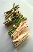Assorted Bundled Asparagus