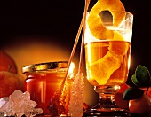 Warm Punch with Honey and Rock Candy