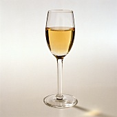 A glass of sherry: Fino